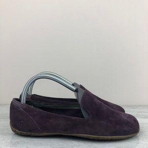 Merrell Plum Suede Loafers